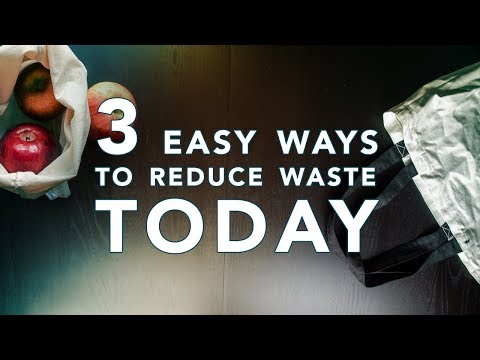 3 Easy Ways to Reduce Your Waste TODAY