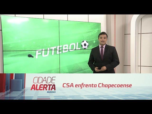 Futebol: CSA enfrenta Chapecoense