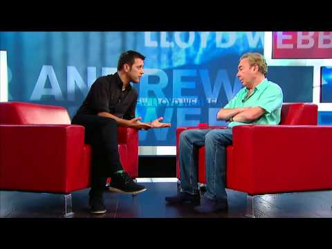 Andrew Lloyd Webber on George Stroumboulopoulos Tonight: Interview