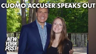 Accuser <b>Charlotte Bennett</b> says Gov. Cuomo asked her to find him a ...