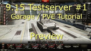 9.15 Testserver #1 - Garage und PVE Basic Tutorial Preview