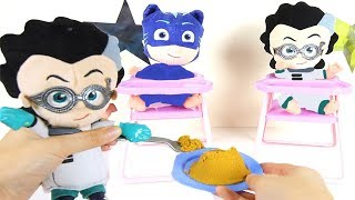 PJ Masks Baby Romeo IPad,  Watches Youtube Trolls Part 5 | Ellie ...
