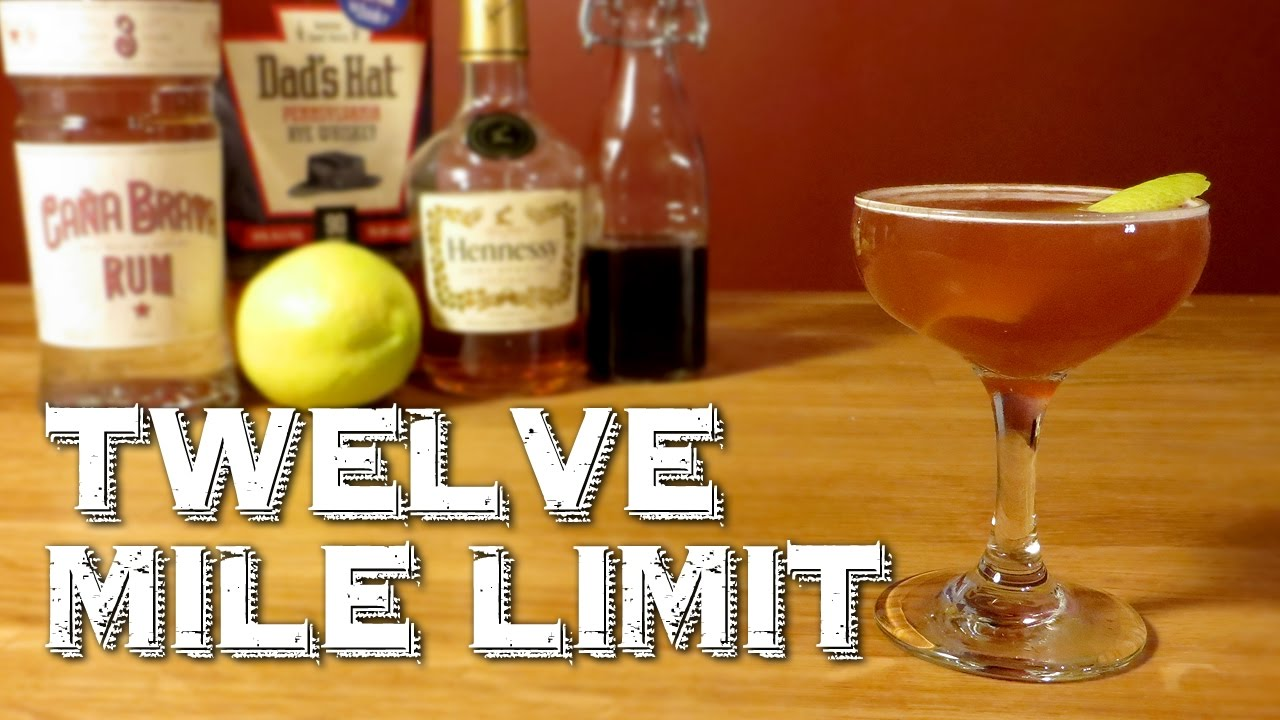 Twelve Mile Limit How To Make The Prohibition Cocktail With Rum