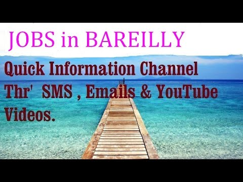 JOBS in BAREILLY      for Freshers & graduates. Industries,  companies.