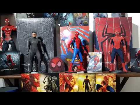 Hot Toys Spider Man Collection Youtube