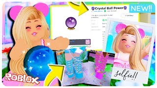 All About The NEW Royale High Update! New Shoes and Crystal Ball Power Overview! Roblox Royale High