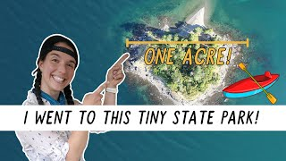 My Own Private Island? Kaỳak Camping to a TINY Island State Park! | Miranda in the Wild