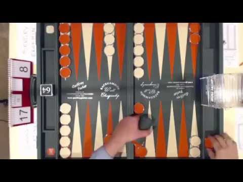 Sergey Erokhin vs Cihangir Cetinel Backgammon WC Final 2015 360p + comm mix