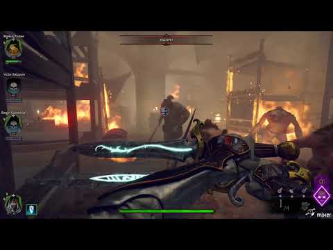 Vermintide 2 Speedrun on the Pit with Old World Dash Achievement. |