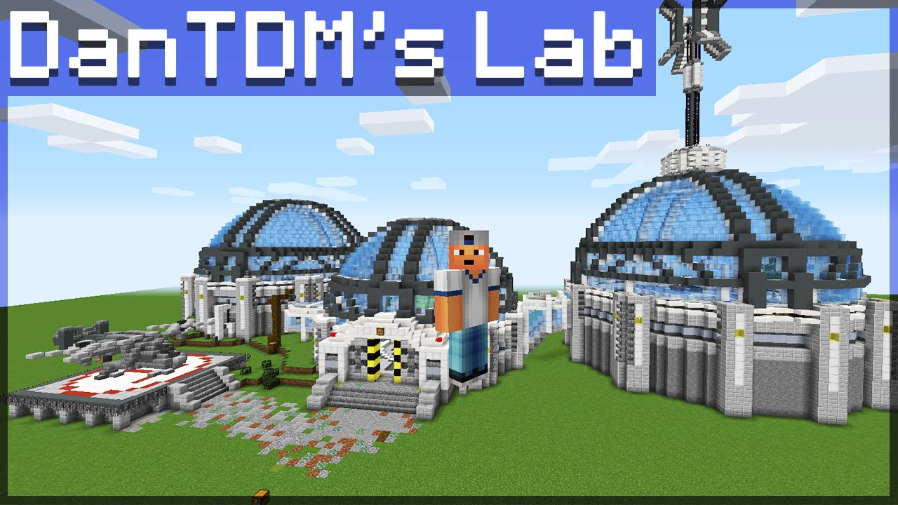 I NEED YOUR HELP! - Building DanTDM's New Lab - YouTube