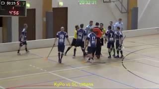 Kakkosdivisioonan ottelussa KyPo-SC Urbans nähtiin raju tilanne jatkoajan lopussa