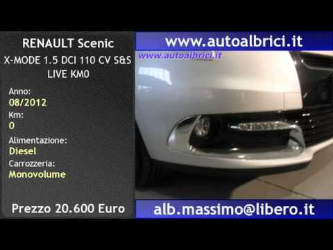renault scenic x mode 1 5 dci 110 cv s s live km0 youtube. Black Bedroom Furniture Sets. Home Design Ideas