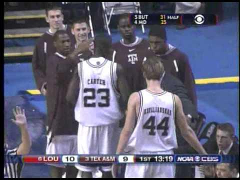 Louisville vs Texas AM 2007 NCAA 2nd Round