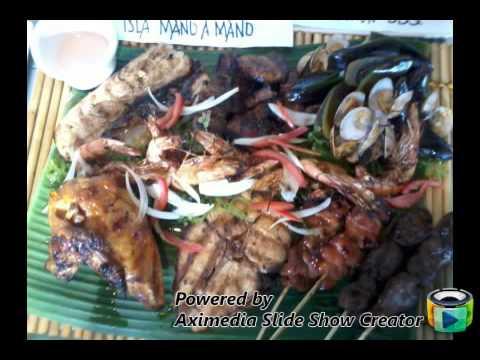 Seafood Island Menu created by Glenn Muit