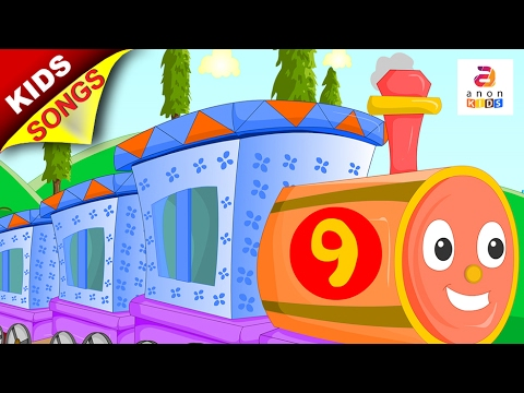 engine engine number 9 nursery rhyme vehicle songs kids songs