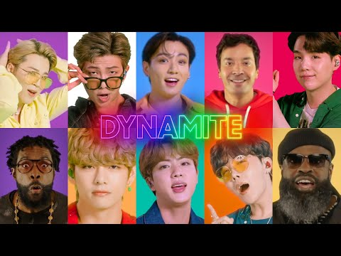 BTS, Jimmy Fallon and The Roots Sing Dynamite
