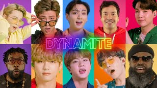 Download lagu BTS, Jimmy Fallon and The Roots Sing Dynamite