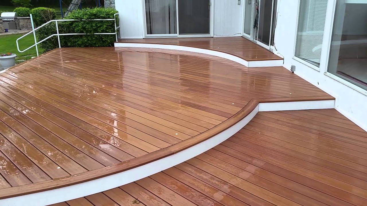 Curved Decking talk by Paddy-O-Deck - YouTube