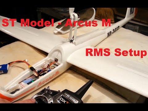 Tower Hobby / ST Model / Sheng Teng - Arcus M - RMS Setup