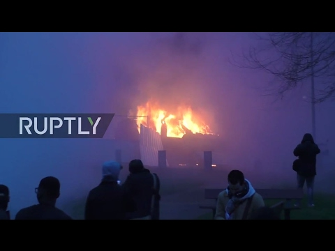 France: Fiery clashes break out at rally against police brutality in Bobigny
