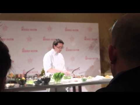 Golden Globe Chef Troy N  Thompson Press Conference