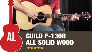 Guild F-130R - All Solid Wood at THIS PRICE?