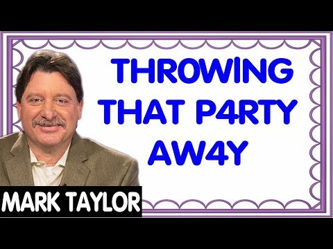 🔴 Mark Taylor New Prophecy (March 20, 2019) — THR0WING THAT PARTY AWAY