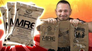 USA Kampfration MRE / EPA 🍗 ANGEBISSEN VOL.25 [German, Deutsch]