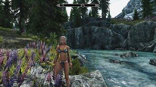 The Elder Scrolls V: Skyrim + ENB mod + Ultra HD texture