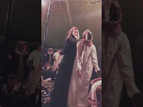 رايح بيشه لحن ياسعد ياخوك انا باح حالي 🔥🎤مناحي شار و عبدالله عبشاء