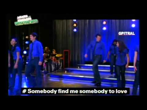 GLEE CAST SOMEBODY TO LOVE