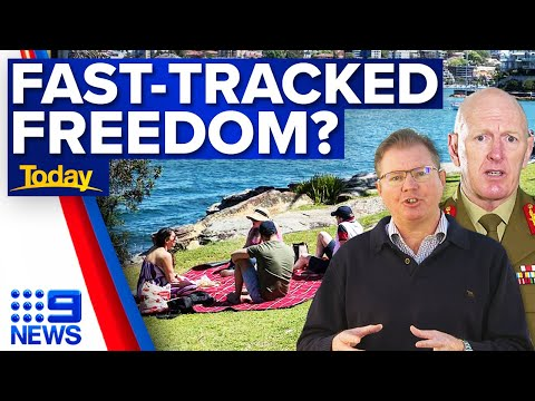 'Freedom Day' could come early for NSW   COVID-19   9 News Australia