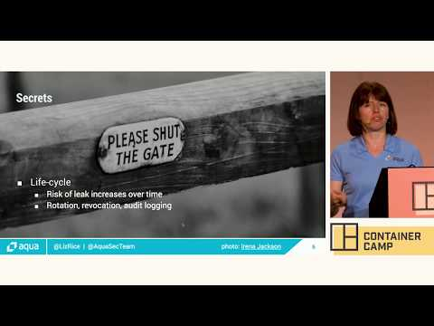 Your (container) secret's safe with me - Liz Rice (Aqua Security)