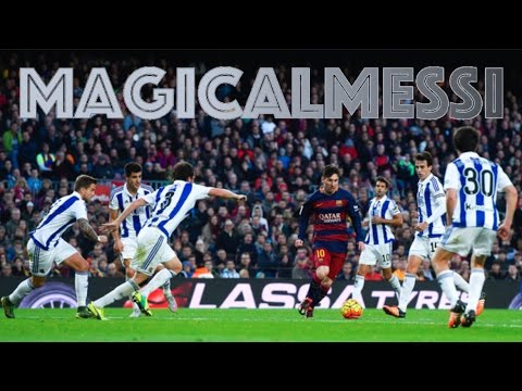 Lionel Messi - The 10 Smartest Ways to Get Out of Tight Spaces - HD