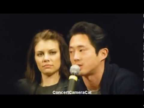 glenn and maggie dating in real life