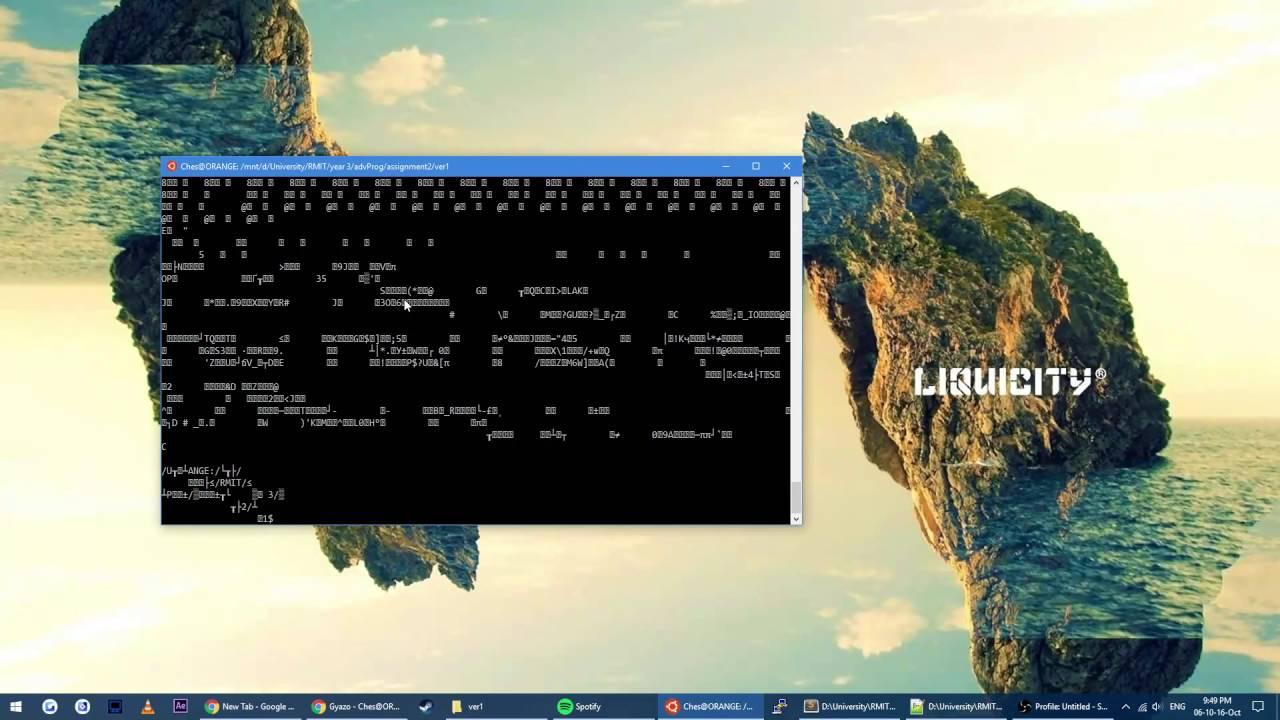 breaking Ubuntu/Bash on win10