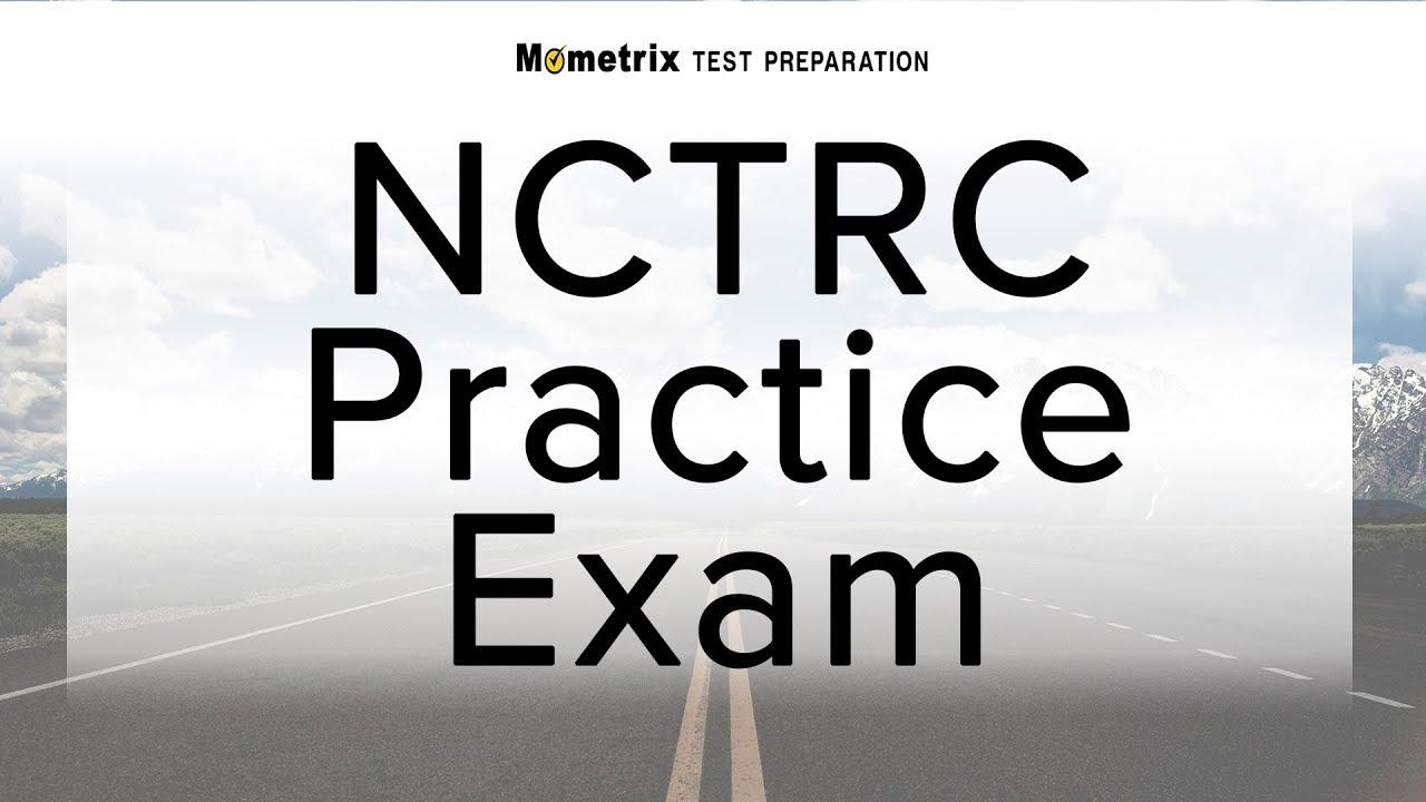 Nctrc Practice Exam Youtube
