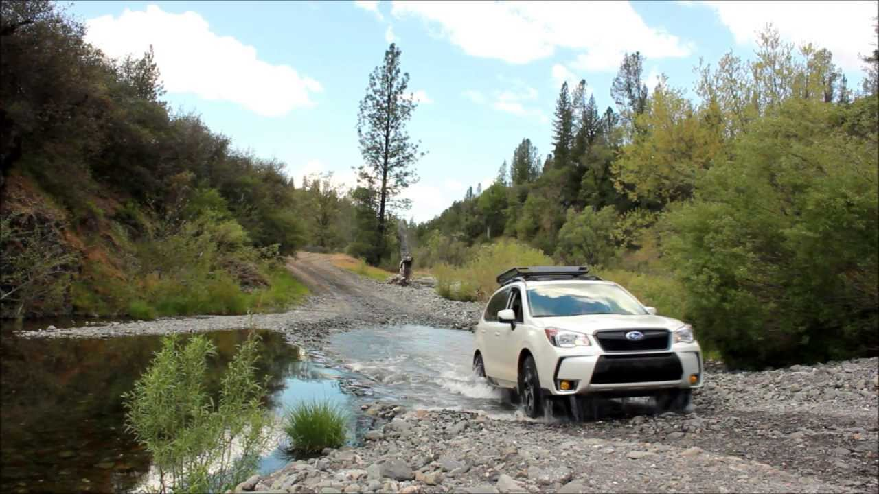 2014 Subaru Forester XT Creek Crossing - YouTube