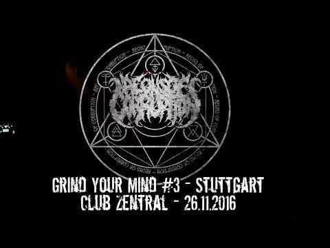Aeons Of Corruption LIVE @ Grind Your Mind #3 - Stuttgart Club Zentral 26.11.2016 - Dani Zed