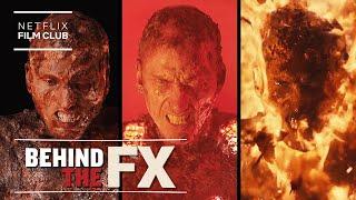 Project Power's Groundbreaking VFX Lit Machine Gun Kelly On Fire | Netflix