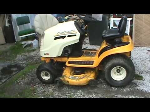 Repair MTD Cub Cadet Kohler Command 18 hp - YouTube