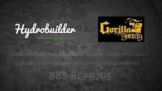 Hydrobuilder.com Review of the Shorty Gorilla Grow Tent