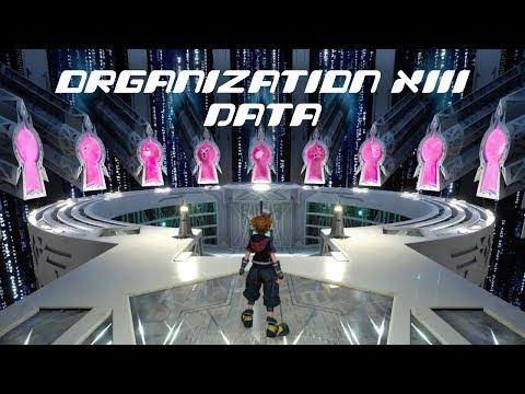 Kingdom Hearts 3 Re Mind - All Organization XIII Data Battles (Limit Cut Episode)