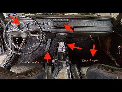 1968 Dodge Charger Interior Additions - Episode 4