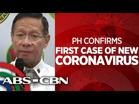 Philippines confirms first case of new coronavirus - YouTube