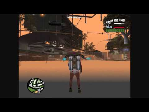 Grand theft auto SA **NEW** GLITCH under the map 2011 HD