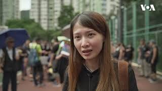 专访香港将军澳游行组织者之一马嘉英