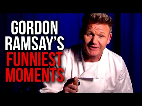 Gordon Ramsay's Top 10 Funniest Moments!