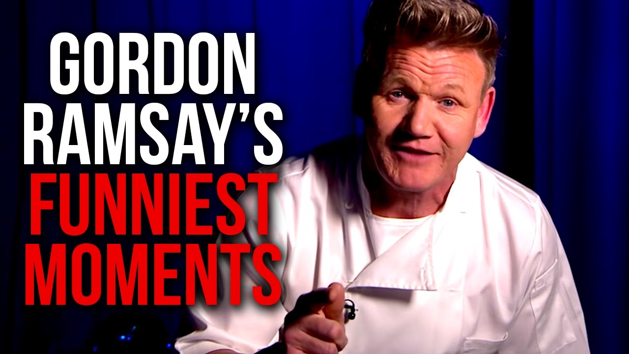 Gordon Ramsay's Top 10 Funniest Moments!