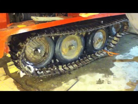J5 bombardier Track Removal